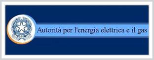logo dell'autorità dell'energia elettrica e del gas